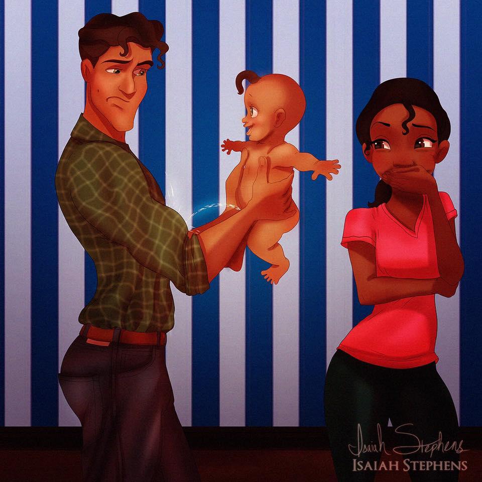 principesse-disney-diventano-mamme-illustrazioni-isaiah-stephens-1