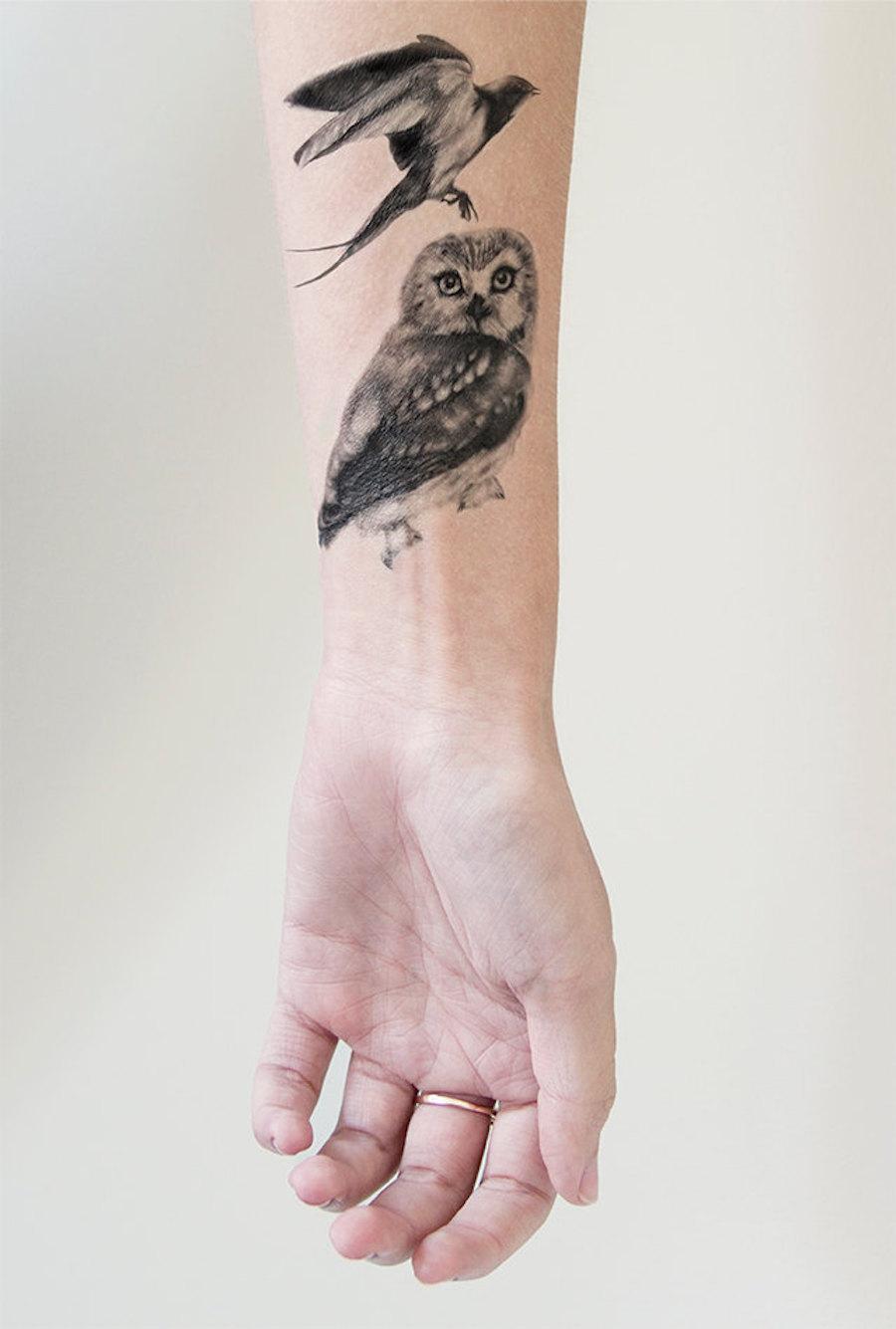 tatuaggi-temporanei-eleganti-natura-volpi-fiori-conigli-kelly-mitchell-04