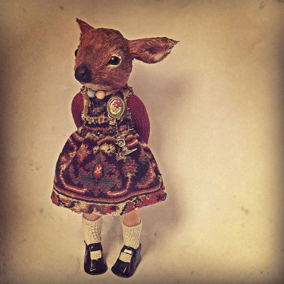 bambole-cucite-mano-teste-animali-annie-montgomery-05