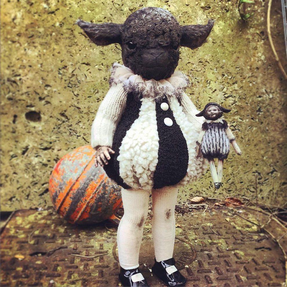 bambole-cucite-mano-teste-animali-annie-montgomery-07
