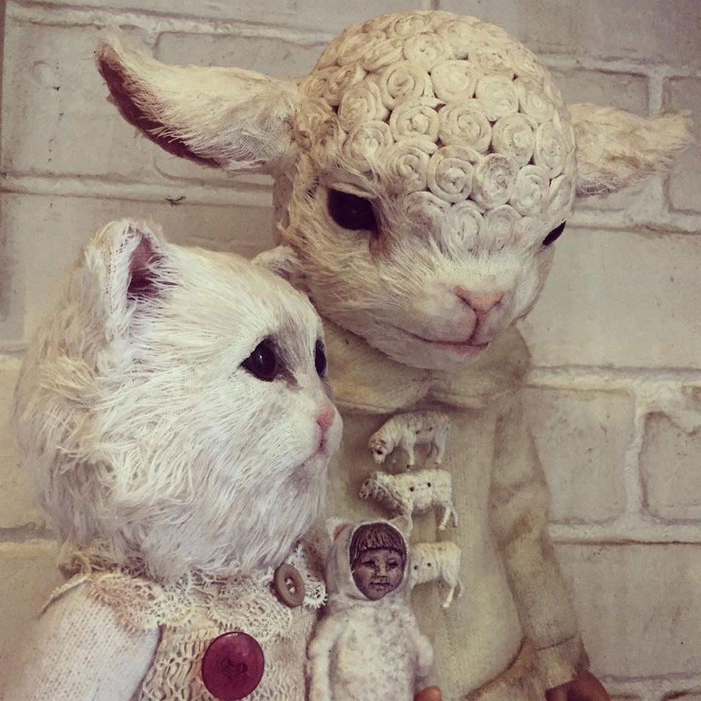 bambole-cucite-mano-teste-animali-annie-montgomery-09