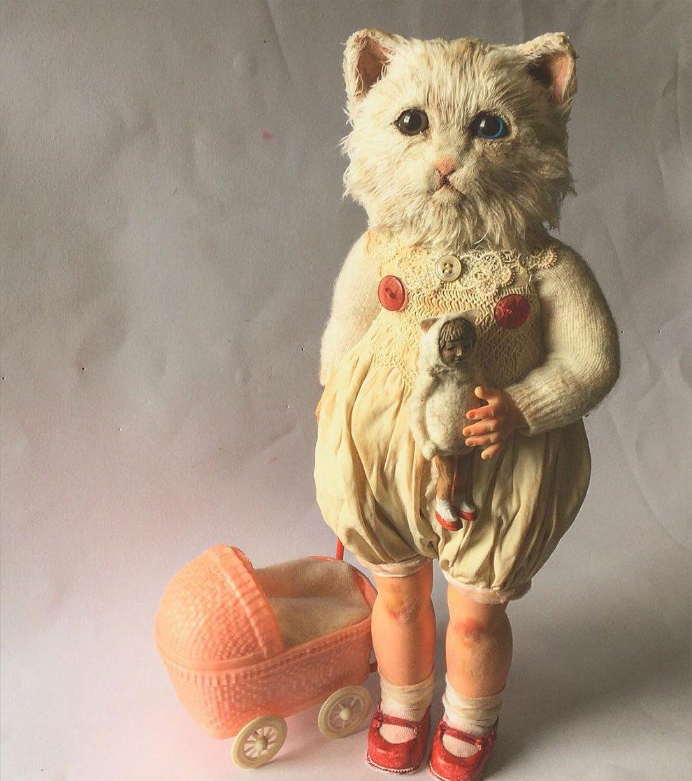bambole-cucite-mano-teste-animali-annie-montgomery-11