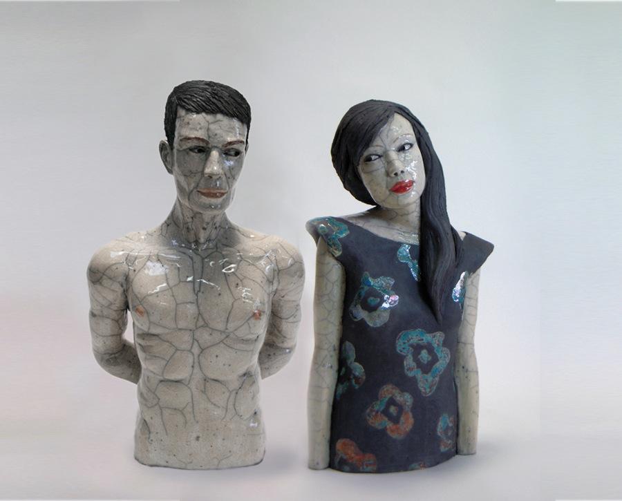 busti-donne-ceramica-raku-melanie-bourget-02