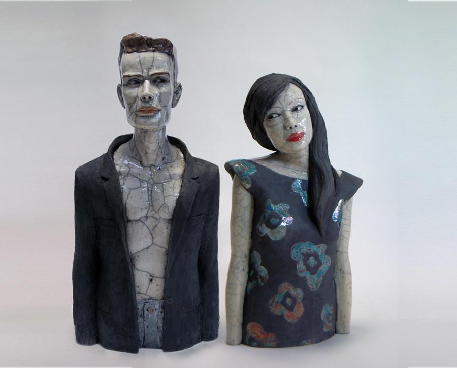 busti-donne-ceramica-raku-melanie-bourget-08