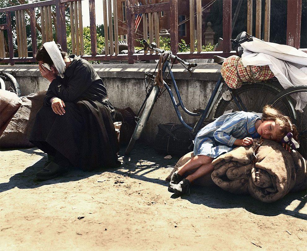 Foto Profughi Seconda Guerra Mondiale