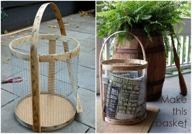 15 oggetti fai da te per personalizzare il tuo giardino for Idee arredamento soggiorno fai da te
