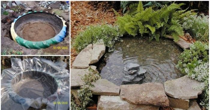 15 oggetti fai da te per personalizzare il tuo giardino for Laghetto per anatre fai da te