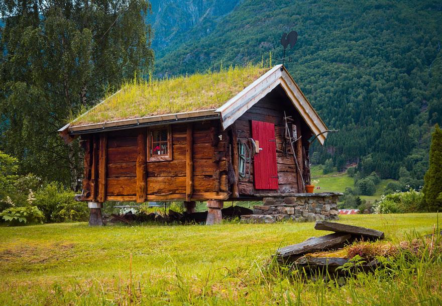 I tetti ricoperti d 39 erba pi belli della scandinavia keblog - Casas escandinavas ...