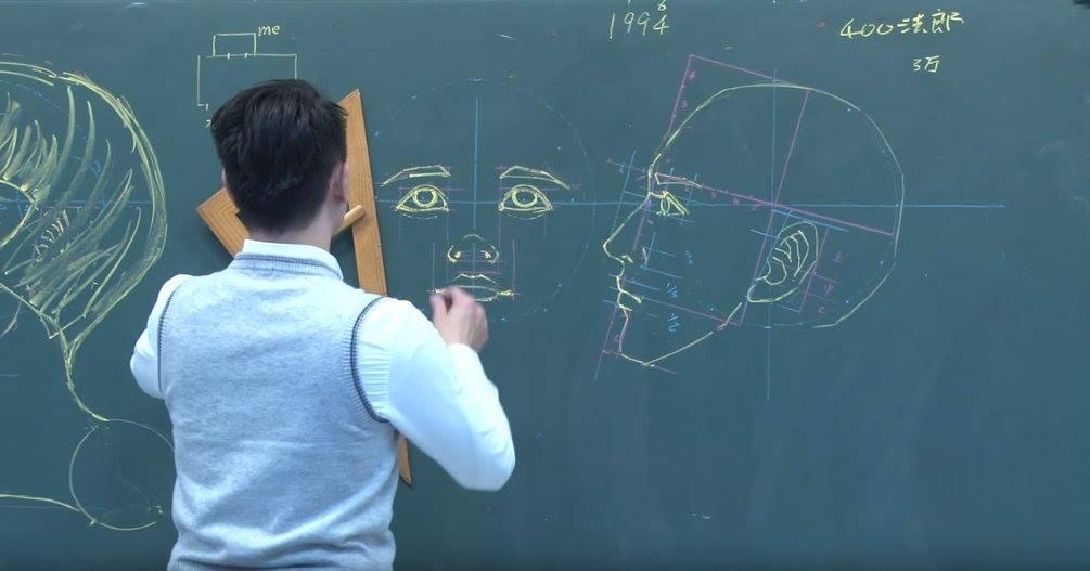 insegnante-disegni-anatomici-mano-libera-lavagna-chuan-bin-chung-5
