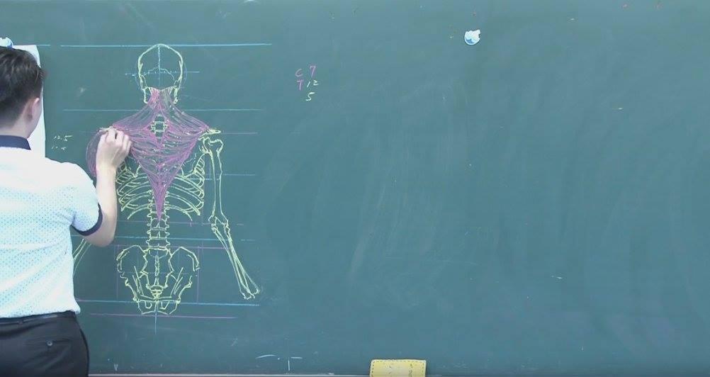 insegnante-disegni-anatomici-mano-libera-lavagna-chuan-bin-chung-7
