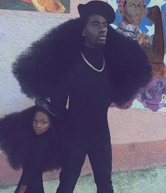padre-figlia-foto-capelli-lunghssimi-benny-harlem-jaxyn-2