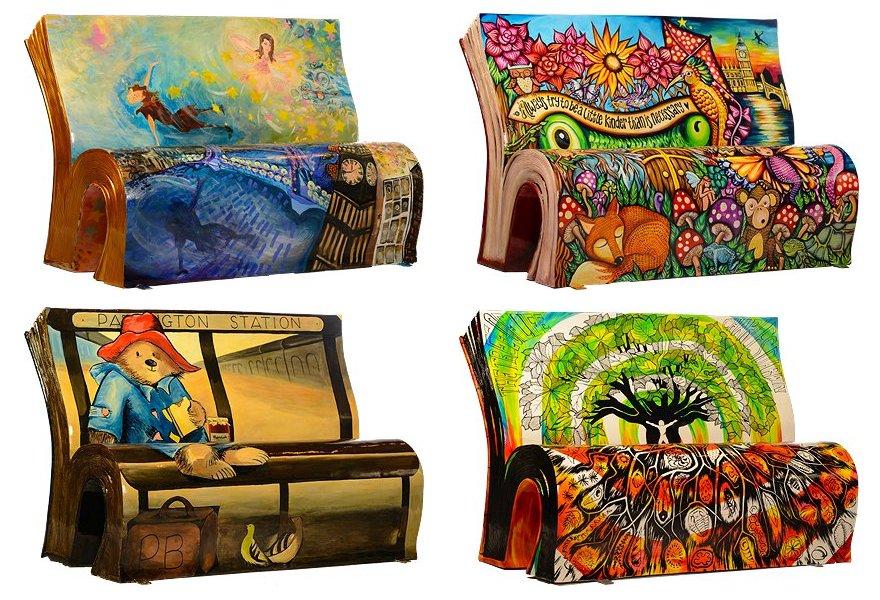 panchine-letterarie-decorate-libri-famosi-londra-2014-17