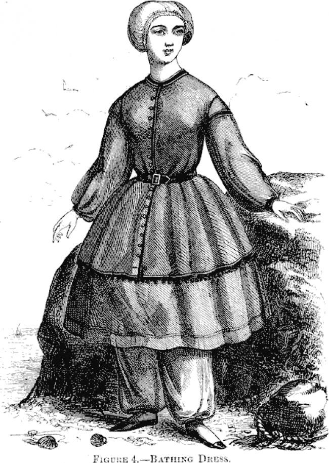 Come sono cambiati i costumi da bagno delle donne negli ultimi 100 anni keblog - Costumi da bagno del 1900 ...