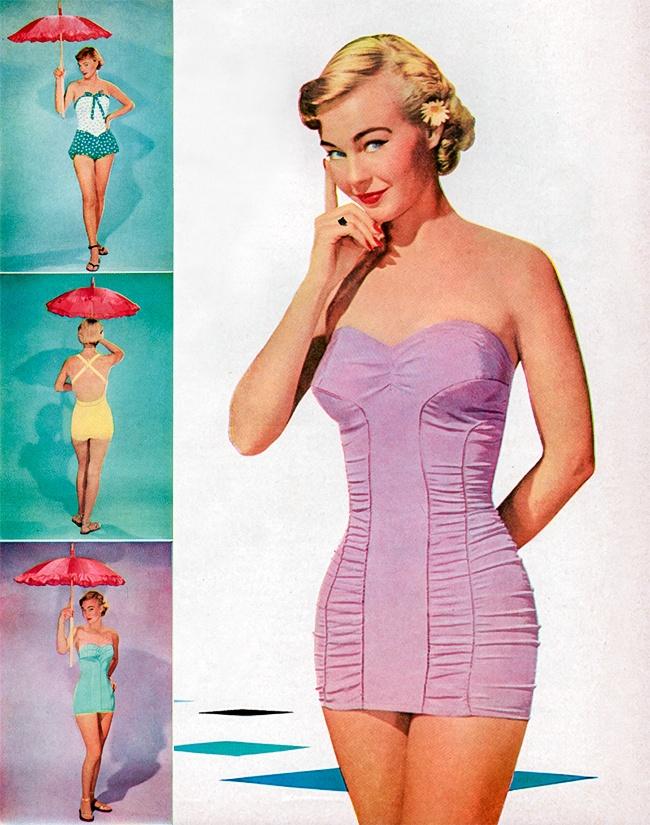 Come sono cambiati i costumi da bagno delle donne negli ultimi 100 anni keblog - Foto costumi da bagno ...