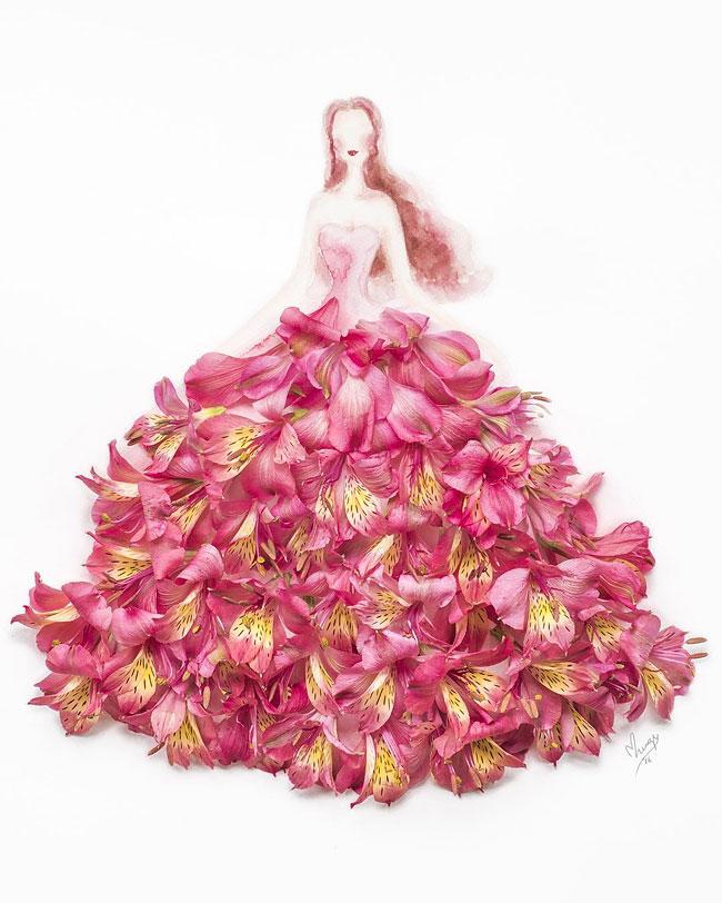 illustrazioni-abiti-eleganti-strati-petali-veri-lim-zhi-wei-01