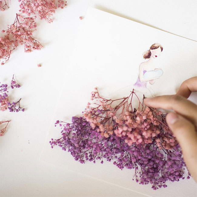 illustrazioni-abiti-eleganti-strati-petali-veri-lim-zhi-wei-14