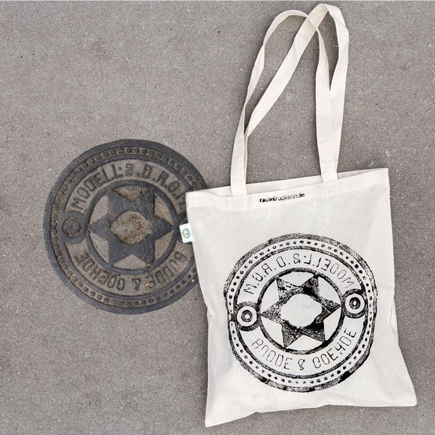 maglie-borse-stampate-grate-tombini-urbani-raubdruckerin-06
