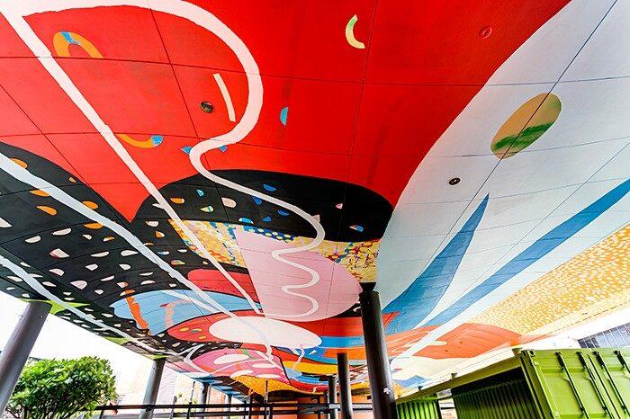 murales-soffitto-curtin-university-perth-australia-Hense-04-keb