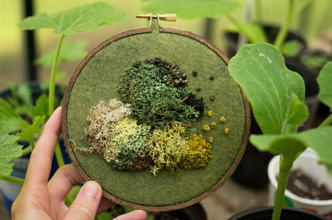 ricami-tridimensionali-imitano-piante-emma-mattson-3