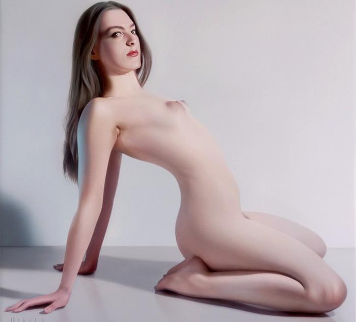 ritratti-nudi-donne-sensuali-iperrealismo-hubert-de-lartigue-18