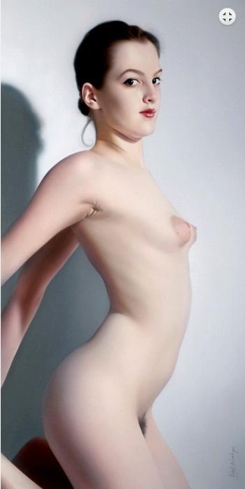 ritratti-nudi-donne-sensuali-iperrealismo-hubert-de-lartigue-20