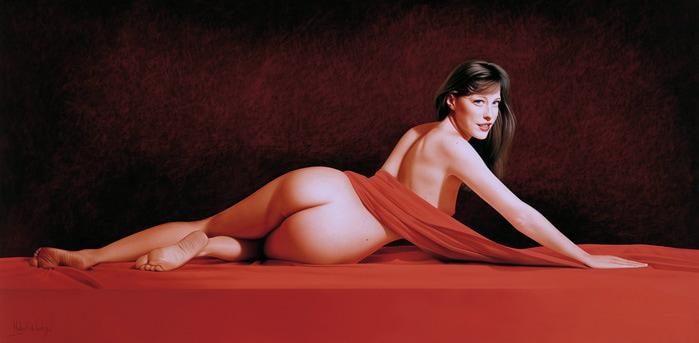 ritratti-nudi-donne-sensuali-iperrealismo-hubert-de-lartigue-25