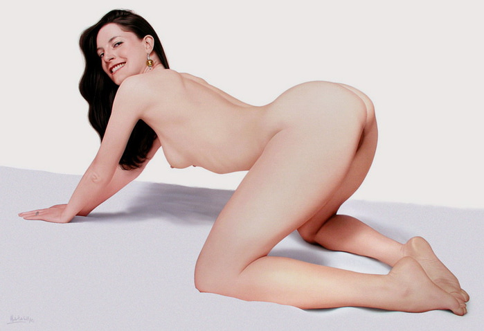 ritratti-nudi-donne-sensuali-iperrealismo-hubert-de-lartigue-28