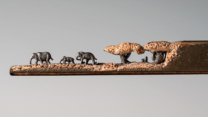 sculture-matite-incise-grafite-elefanti-cindy-chinn-05