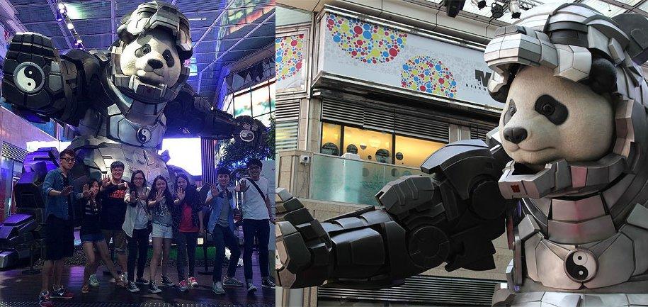 statua-panda-imponente-vestito-iron-man-bi-heng-cina-8