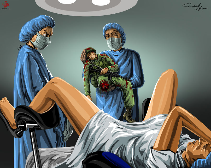 supermaket-illustrazioni-satiriche-critica-societa-gunduz-agayev-04