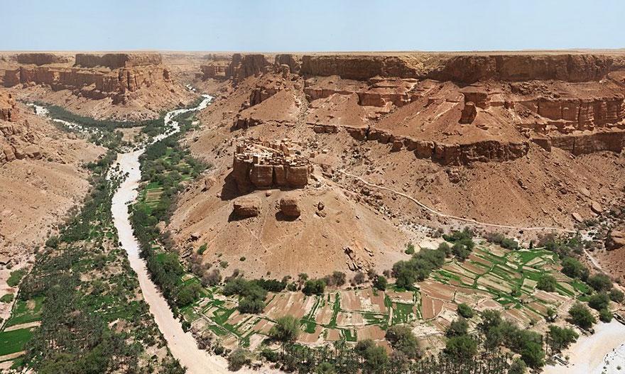 villaggio-yemen-case-fango-haid-al-jazil-1
