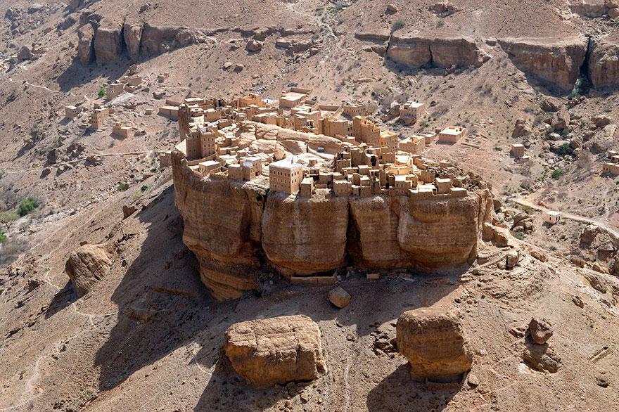 villaggio-yemen-case-fango-haid-al-jazil-2