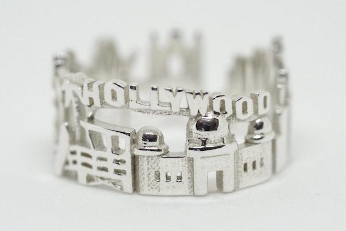 Anelli Stampati 3D Città Mondo Ola Shekhtman