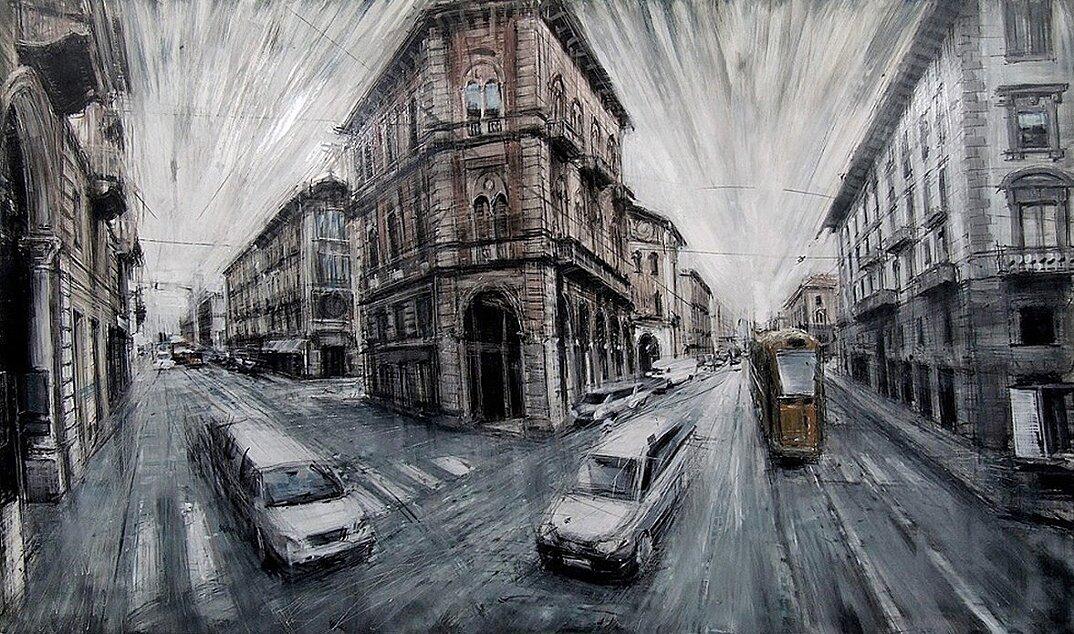 dipinti-citta-new-york-milano-parigi-movimento-valerio-dospina-01