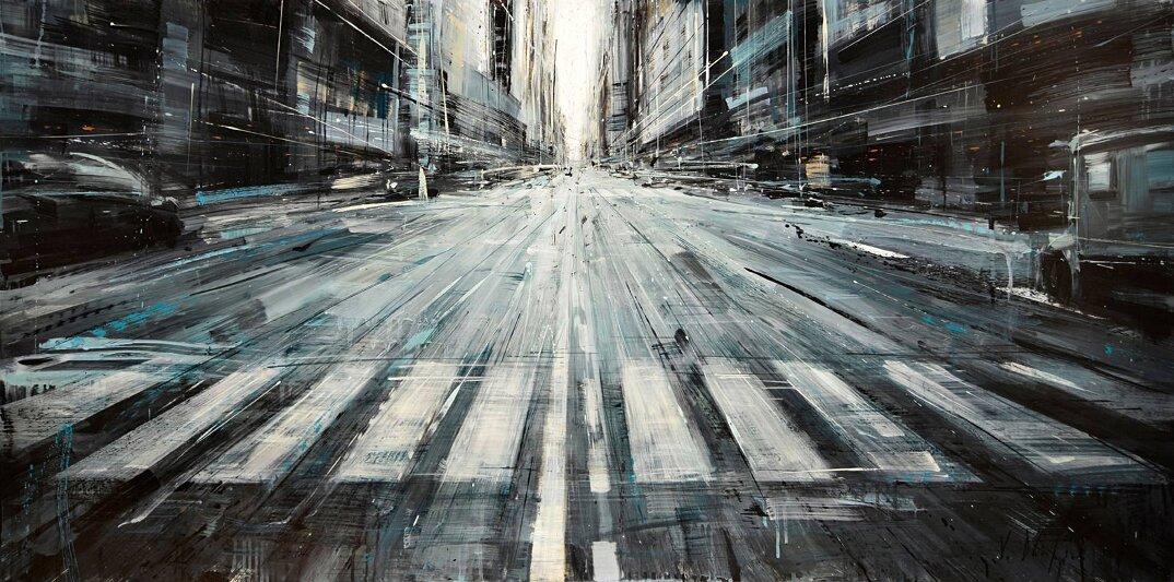 dipinti-citta-new-york-milano-parigi-movimento-valerio-dospina-02