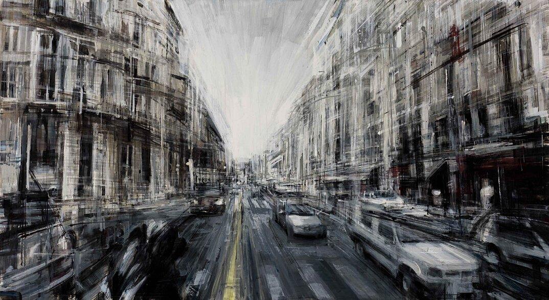 dipinti-citta-new-york-milano-parigi-movimento-valerio-dospina-03
