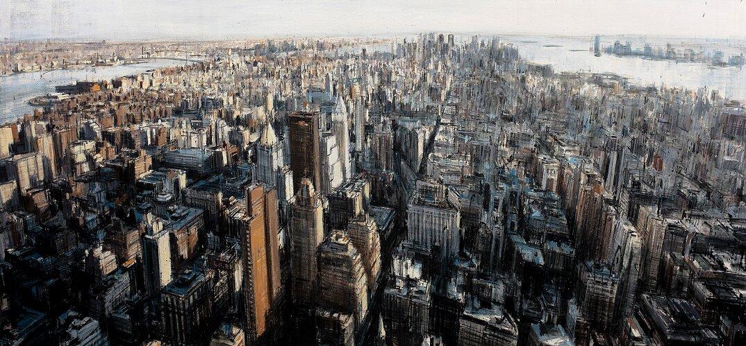 dipinti-citta-new-york-milano-parigi-movimento-valerio-dospina-04