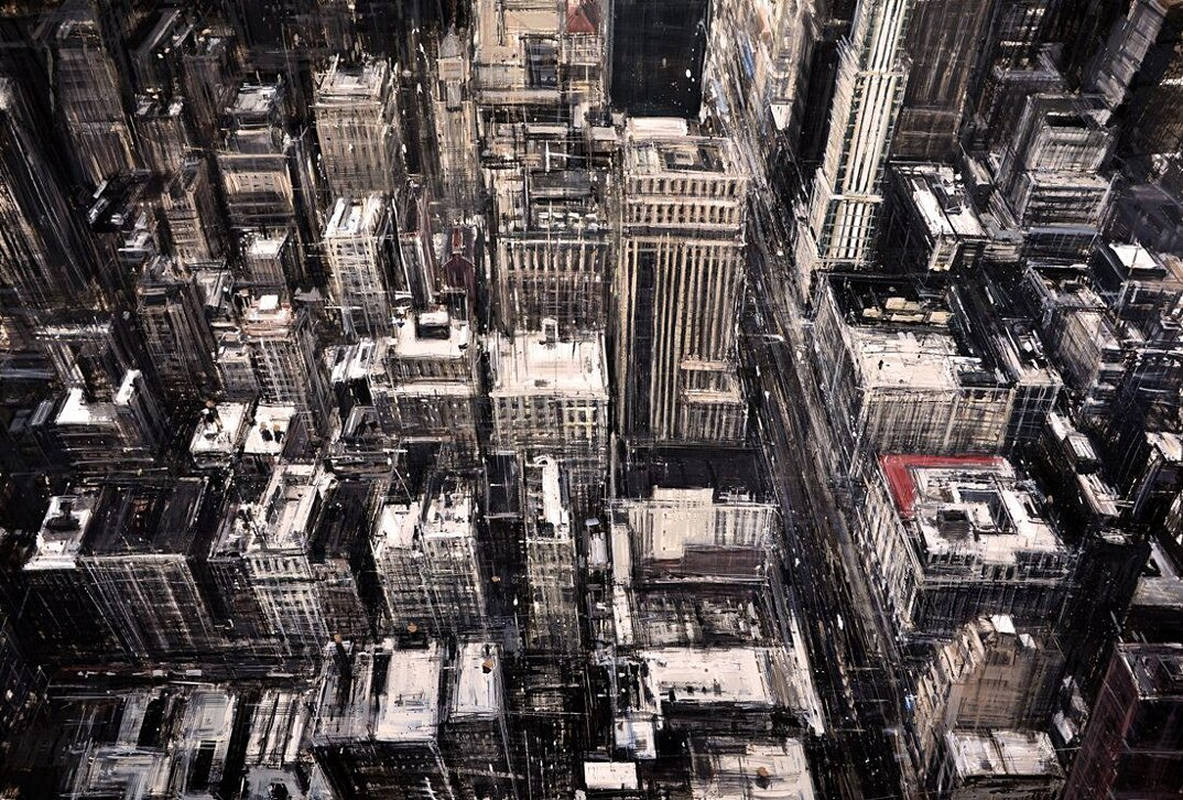 dipinti-citta-new-york-milano-parigi-movimento-valerio-dospina-05