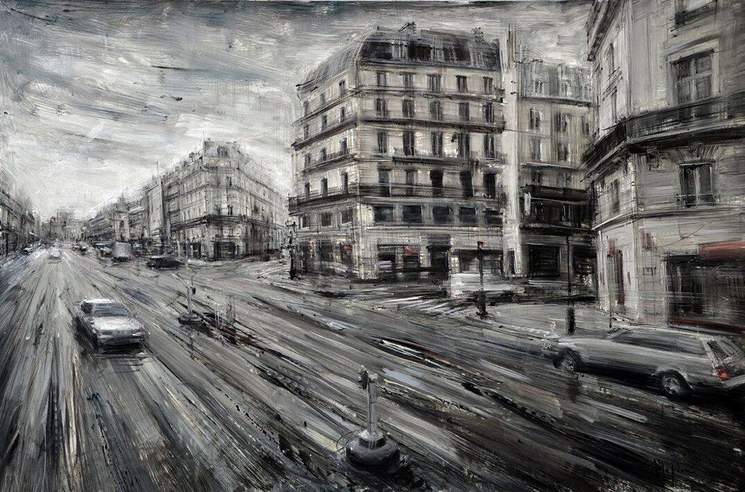 dipinti-citta-new-york-milano-parigi-movimento-valerio-dospina-07