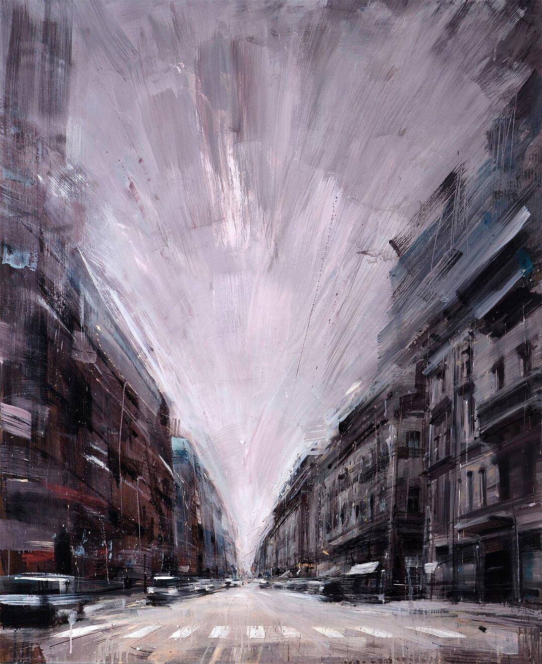 dipinti-citta-new-york-milano-parigi-movimento-valerio-dospina-13