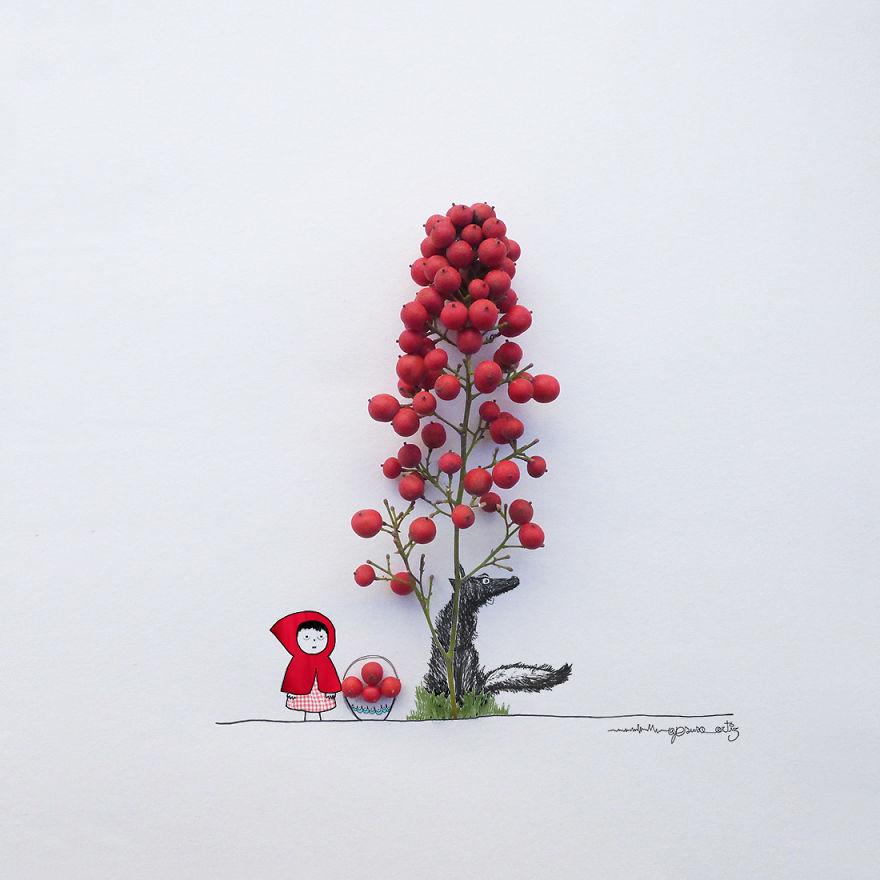 illustrazioni-3d-fiori-oggetti-comuni-jesuso-ortiz-04