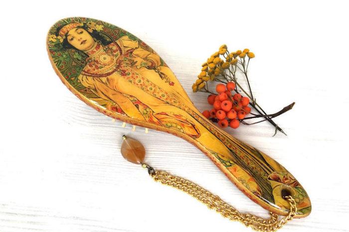 spazzole-capelli-decoupage-opere-arte-famose-yulia-art-08