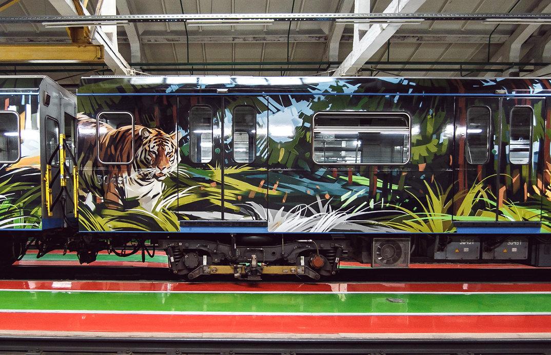 treno-metropolitana-mosca-illustrazioni-tigri-leopardi-viktor-miller-gausa-06