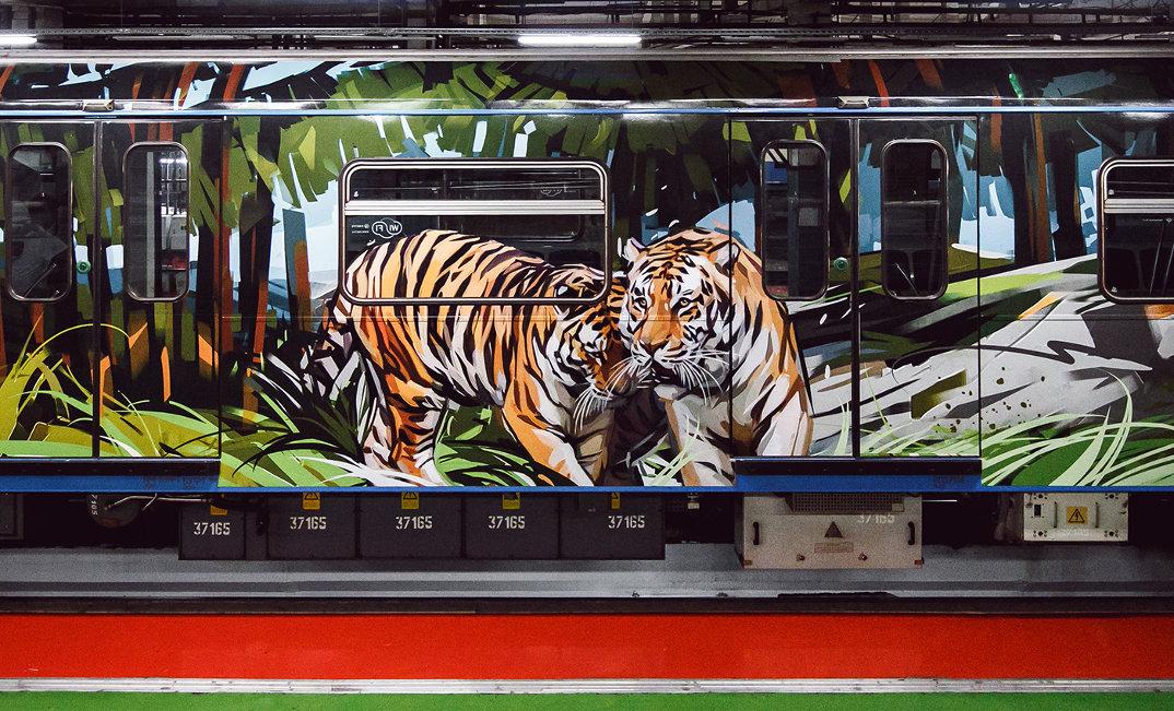 treno-metropolitana-mosca-illustrazioni-tigri-leopardi-viktor-miller-gausa-14