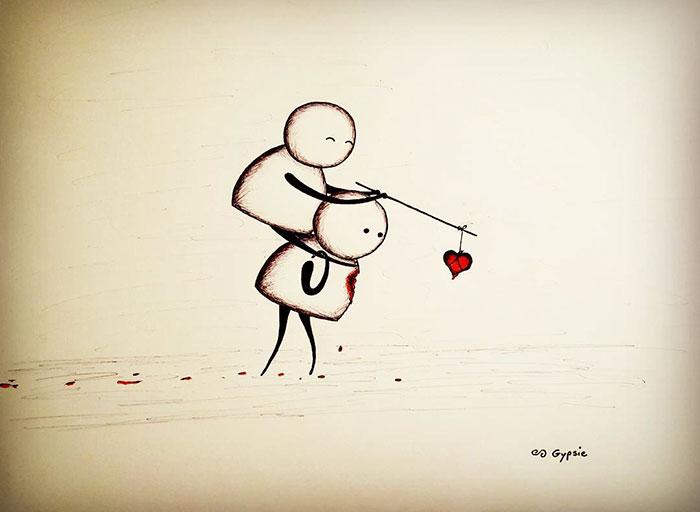 amore-vita-morte-vignette-disegni-gypsie-raleigh-02