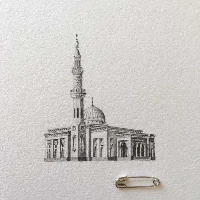 disegni-matita-miniature-moschee-emirati-arabi-uniti-mariam-abbas-11
