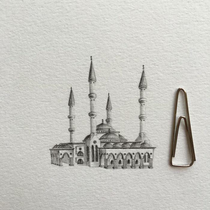 disegni-matita-miniature-moschee-emirati-arabi-uniti-mariam-abbas-15
