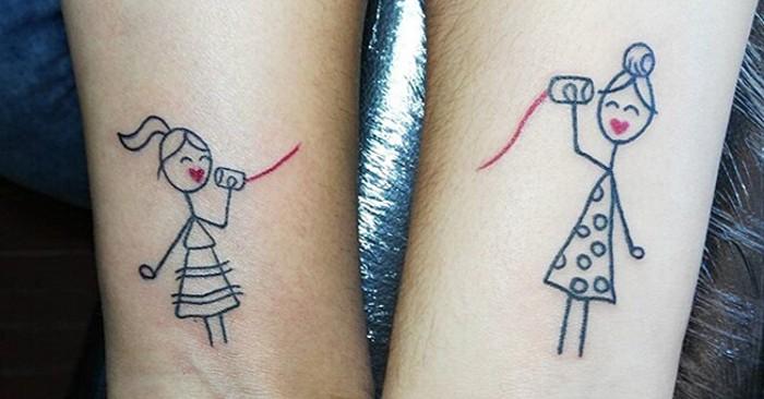 50 Esempi Di Tatuaggi Per Amici Del Cuore Keblog