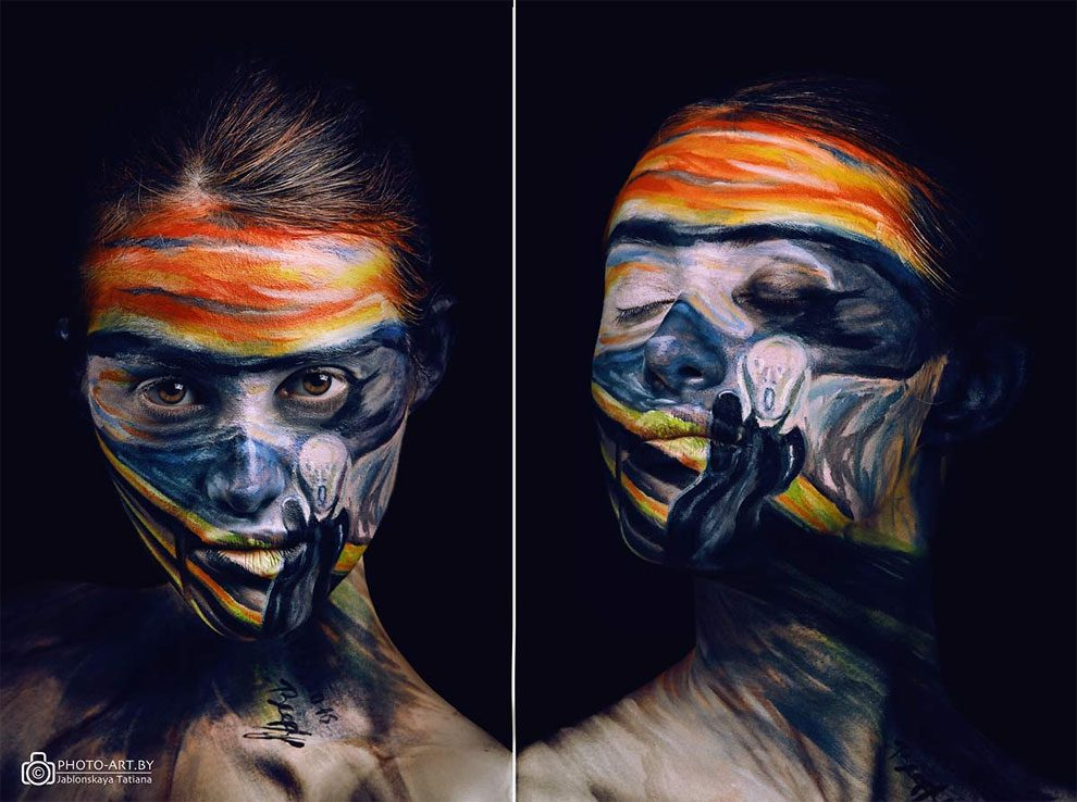 makeup-artist-dipinge-viso-quadri-dipinti-famosi-oksana-vinogradova-19