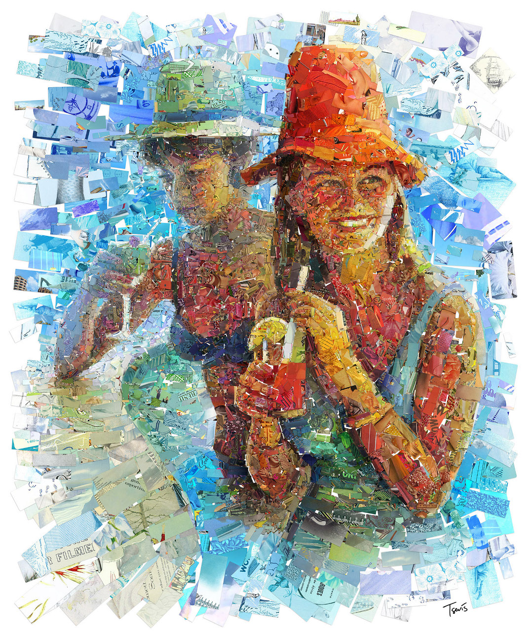mosaici-collage-riviste-anni-50-60-endless-summer-charis-tsevis-08